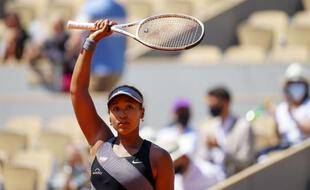Naomi Osaka, à Roland Garros le 30 mai 2021.