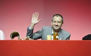 Pascal Pavageau, le successeur de Jean-Claude Mailly à la tête de FO, le 27 avril 2018.