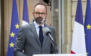 Le Premier ministre Edouard Philippe, à Matignon, le 22 mai 2020.