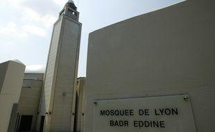 Illustration d'archives (datant de 2011) de la Grande Mosquée de Lyon.