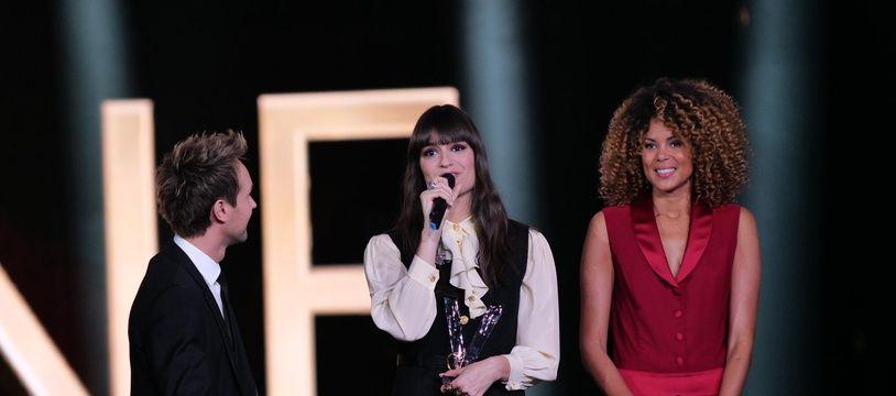 Clara Luciani aux 35e Victoires de la musique, le 14 février 2020. Gilles GUSTINE - FTV