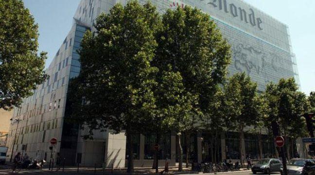 Le siège du quotidien français «Le Monde» à Paris le 2 juillet 2010. – HALEY/SIPA