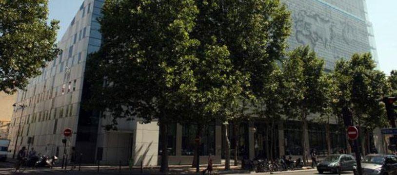 Le siège du quotidien français «Le Monde» à Paris le 2 juillet 2010.