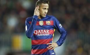 Neymar lors du match entre le Barça et le Betis Séville le 30 décembre 2015.