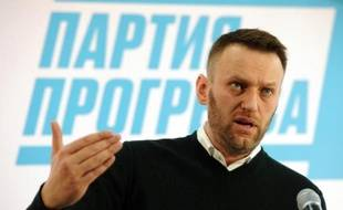 Alexeï Navalny, opposant du pouvoir russe en place, a été arrêté dès le début de la manifestation.