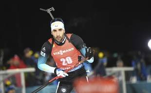 Martin Fourcade dans ses oeuvres