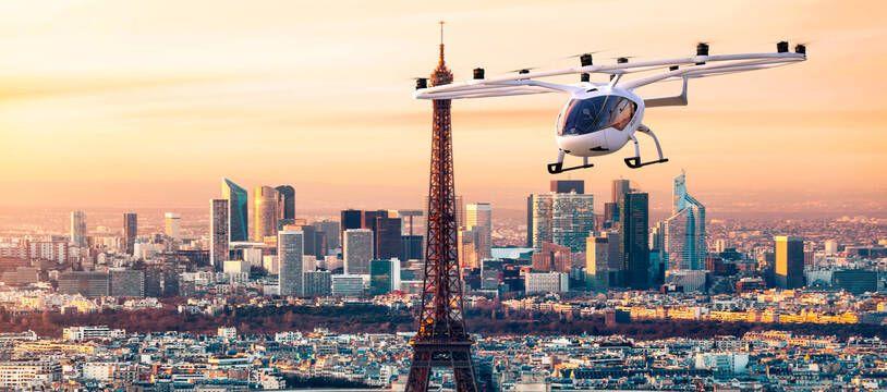 VoloCity, du constructeur allemand Volocopter, a été choisi pour réaliser les premières expériences en Île-de-France.