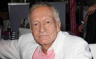 Le fondateur de Playboy, Hugh Hefner