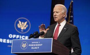 Le président-élu des Etats-Unis, Joe Biden, le 19 novembre 2020.