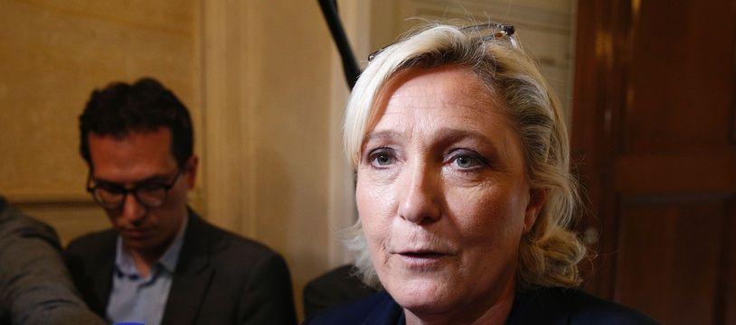 Marine Le Pen à l'Assemblée nationale le 29 juin 2017.