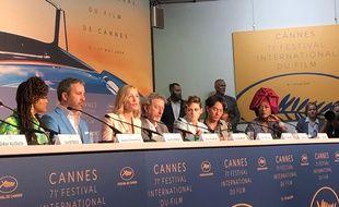 Cate Blanchett entourée de son jury