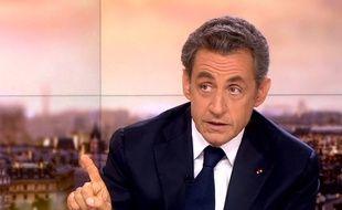 Nicolas Sarkozy au 20 Heures de France 2, le 21 septembre 2014.