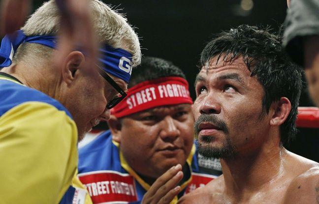 Une plainte a été déposée contre Pacquiao, pour des millions