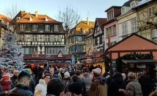 Attentat à Strasbourg: Au marché de Noël de Colmar, «on est avec les Strasbourgeois par la pensée»