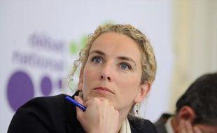 La ministre de l'Ecologie Delphine Batho, lors d'une conférence de presse sur la transition écologique, le 27 mai 2013 à Paris.