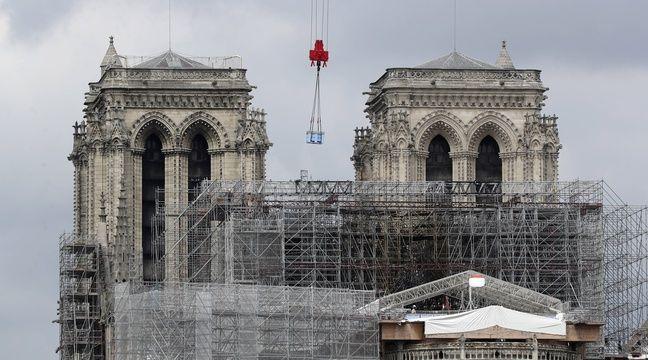 Le démontage de l'échafaudage de Notre-Dame achevé « avant fin septembre »