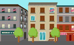 Illustrations centres-villes