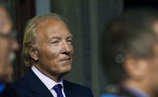 L'ancien ministre Brice Hortefeux, ami de Nicolas Sarkozy, le 28 octobre 2014 à Marseille.