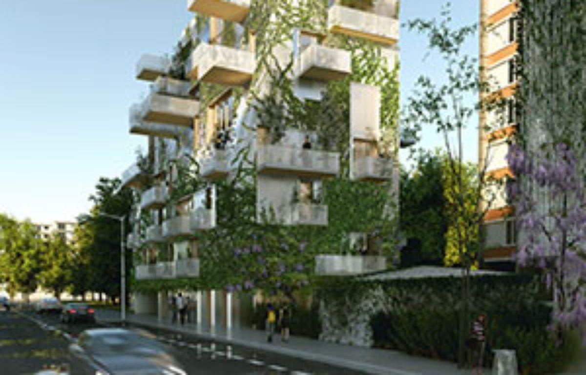 L'immeuble en ossature bois du groupe Pichet pour le concours Réinventer Paris – Laisné-Roussel