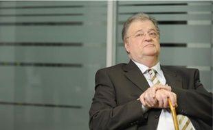 Georges Frêche, le 24 février 2010, dans les locaux de 20 Minutes.