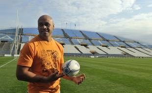 Jonah Lomu en 2009 au Stade Vélodrome