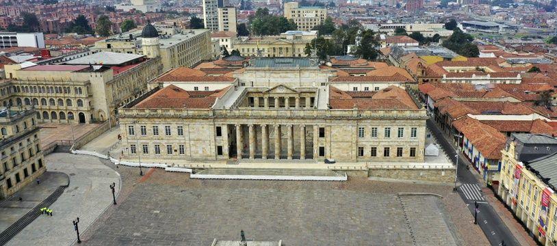 Le capitole national à Bogota en Colombie.