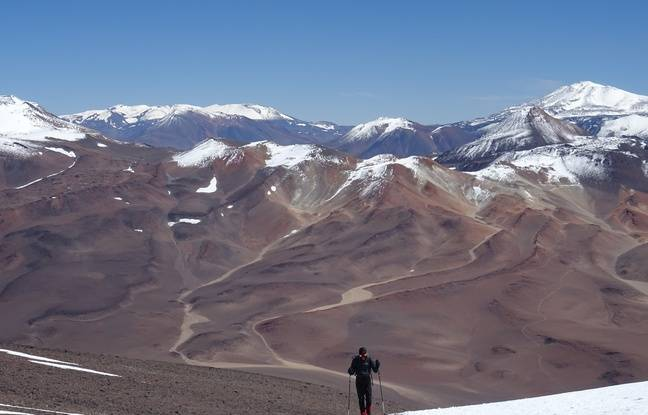 Antoin Retours et Etienne Loisel ont profité au maximum de la région d'Atacama.