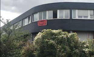 Un collectif a ouvert ce dimanche 22 septembre un nouveau squat pour sans-abris et migrants dans des locaux du groupe Lidl, à Eckbolsheim.
