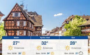 Météo Strasbourg: Prévisions du jeudi 17 juin 2021