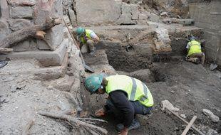 Le 4 juin 2009. Illustration de fouilles archéologiques.G. varela / 20 Minutes