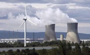 La centrale nucléaire de Tricastin, en septembre 2010.