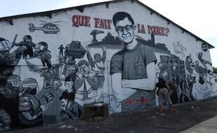 Le portrait de Steve à Nantes.