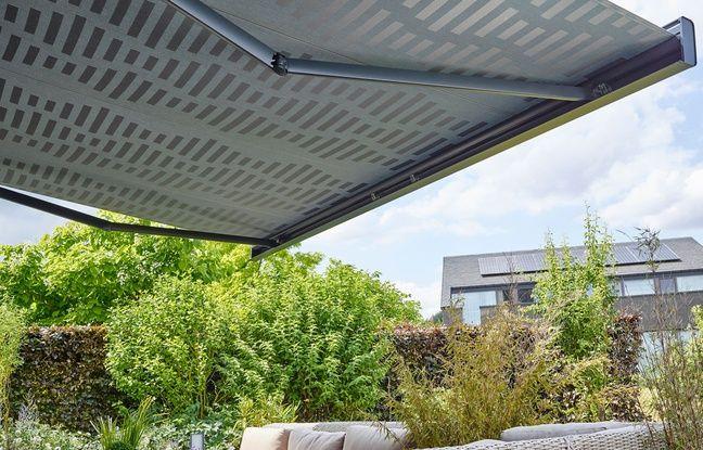 L'une des toiles solaires dont le design a été conçu par Meunier.