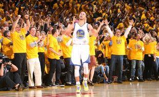 Stephen Curry, le meneur de jeu des Golden State Warriors, le 13 mai 2015.