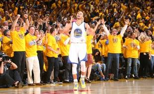 Stephen Curry, le meneur de jeu des Golden State Warriors, le 13 mai 2015.