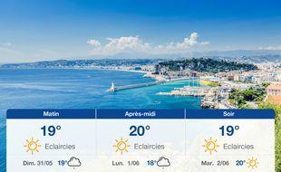 Météo Nice: Prévisions du samedi 30 mai 2020