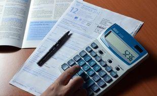 Une déclaration d'impôts sur le revenu