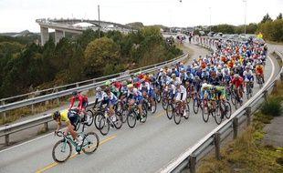Le peloton sur les Mondiaux de cyclisme