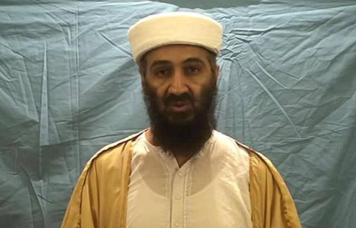 Capture d'écran d'une vidéo d'Oussama ben Laden diffusée par le Département américain de la Défense le 7 mai 2011 –  DOD