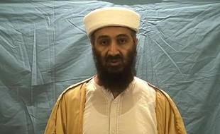 Capture d'écran d'une vidéo d'Oussama ben Laden diffusée par le Département américain de la Défense le 7 mai 2011