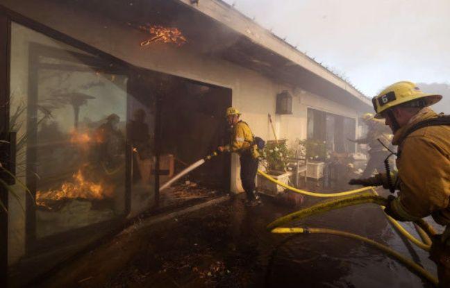 nouvel ordre mondial | Etats-Unis: L'incendie du luxueux quartier de Bel-Air causé par un campement de SDF
