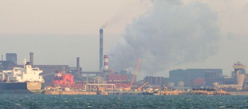 Illustration du complexe industriel sur le golfe de Fos-sur-Mer.