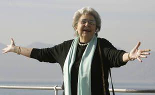 Christa Ludwig à Cannes en 2008.
