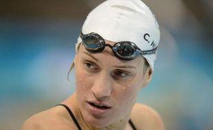La nageuse Camille Muffat s'avance sereinement vers un premier titre olympique à Londres après une saison inédite où elle a travaillé comme jamais, enchaînant meilleurs chronos mondiaux et emmagasinant confiance.
