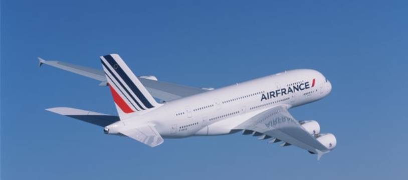 Un A380 de la compagnie Air France.