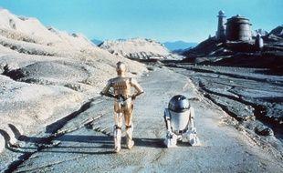 R2D2 et Z-6PO dans Le Retour du Jedi.