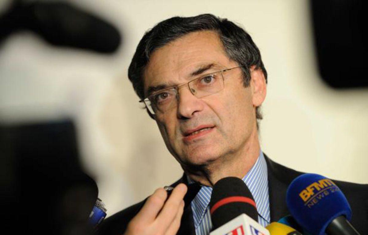 Patrick Devedjian à Boulogne-Billancourt le 18 octobre 2012. – WITT/SIPA