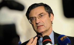 Patrick Devedjian à Boulogne-Billancourt le 18 octobre 2012.