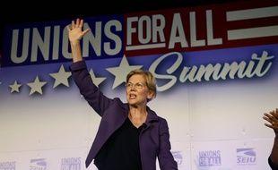 Elizabeth Warren le 4 octobre 2019 à Los Angeles.