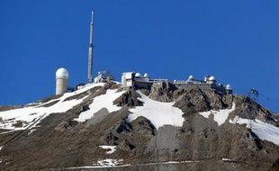 L'observatoire du Pic du Midi. Illustration